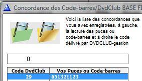 Pour le fichier PRODUITS version 6.3
